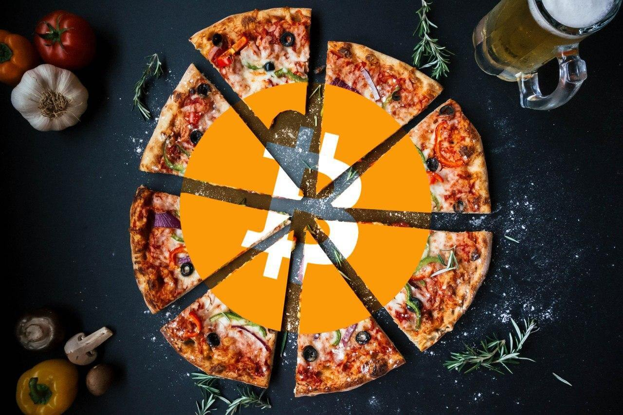 Дорогая пицца за Bitcoin